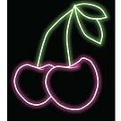 Neon Cherries 2 by RogueGear