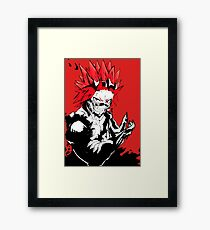 red riot Framed Print