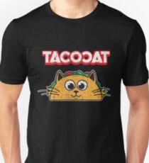 Tacocat Spelled backwards is Tacocat > Funny Taco & Cat Slim Fit T-Shirt
