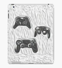 oil painting of video game hardware iPad Case/Skin