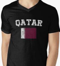 Qatari Flag Shirt - Vintage Qatar T-Shirt T-Shirt