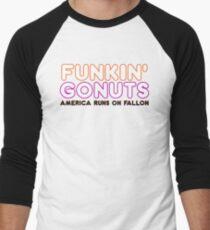 Funkin' Gonuts Men's Baseball ¾ T-Shirt