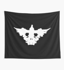 Crow Skull - Rorschach Shirt - Before the Storm - Life is Strange 1.5 Wall Tapestry