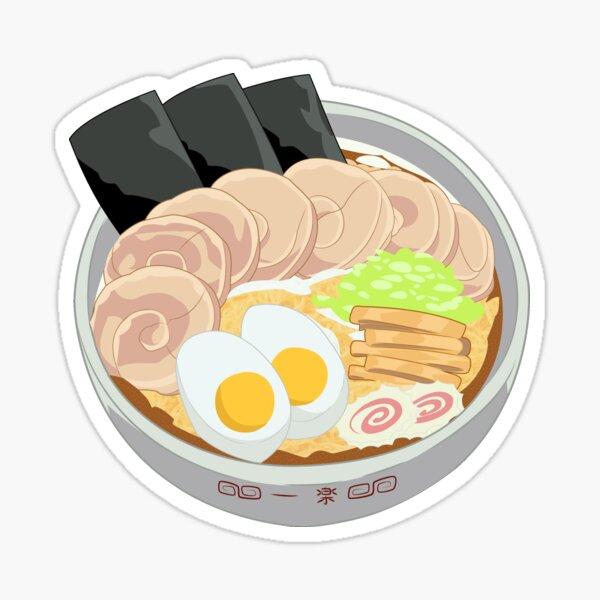 Delicious Anime Ramen Sticker