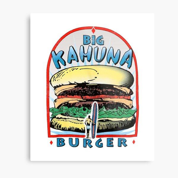 Tarantino  - Big Kahuna Burger Metal Print