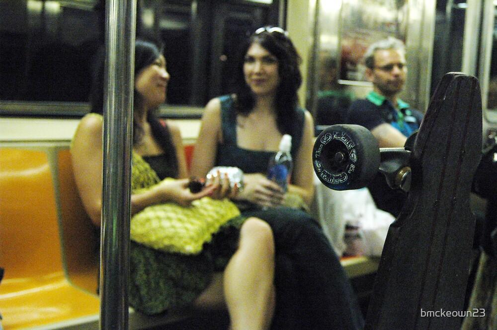 Manhattan Train ride by bmckeown23