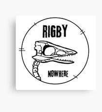 Rigby Skelebird. Canvas Print