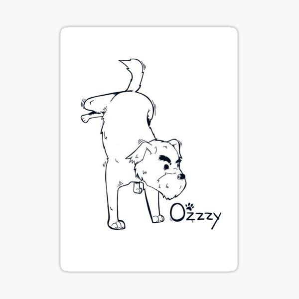 Ozzzy World Front Line Sticker