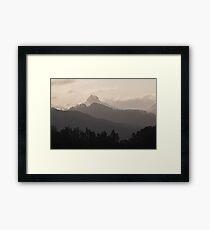 Mystical Mountains Framed Print