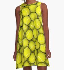Tennis balls A-Line Dress