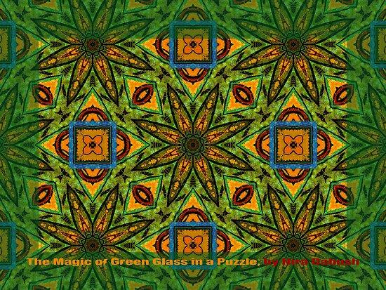 The GREEN PUZZLE by Nira Dabush
