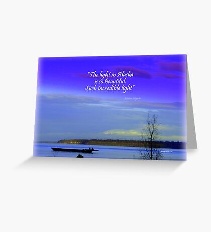 Mount Susitna Greeting Card