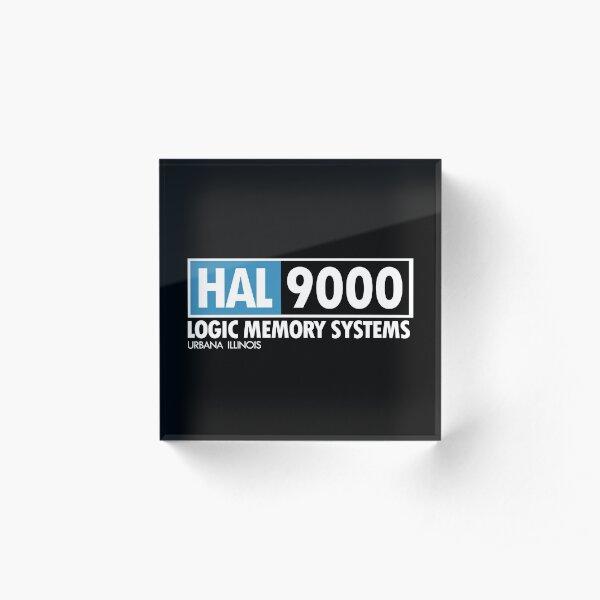 2001 - HAL Acrylic Block