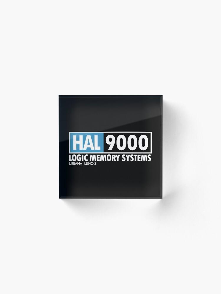 Alternate view of 2001 - HAL Acrylic Block
