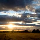 Outback Sunset by Andrew Cumberland