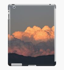 cotton candy clouds iPad Case/Skin
