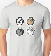 Bumblebears - All Bears in a Square T-Shirt