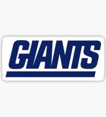 NY Giants Sticker