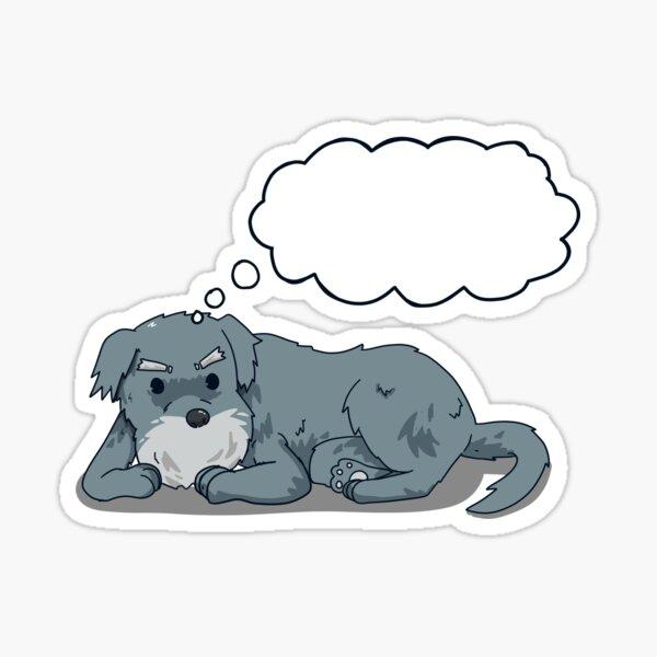 Ozzzy Thinking Sticker