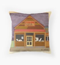 Fish Creek Timber & Hardware Throw Pillow