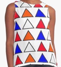 Triangles Contrast Tank