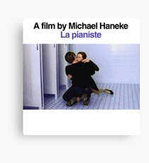 LA PIANISTE // MICHAEL HANEKE Canvas Print