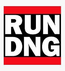 RUN DNG - Adobe Camera Raw RUN DMC Photographic Print