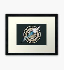 Battlestar Galactica - Viper Framed Print
