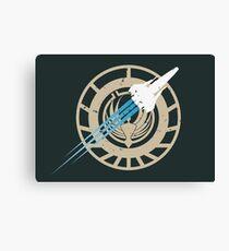 Battlestar Galactica - Viper Canvas Print