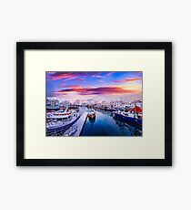 Vibrant Norway Framed Print