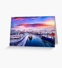 Vibrant Norway Greeting Card