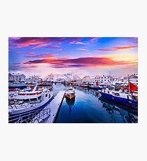 Vibrant Norway Photographic Print