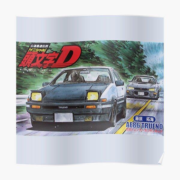 Initial D Poster