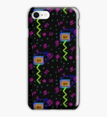 80's style ZooSonic TV party iPhone Case/Skin