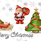 christmas design by studenna