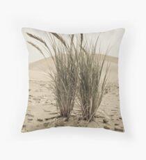 Dune Grasses Throw Pillow