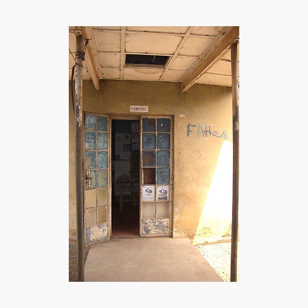 Principal's Office - Sierra Leone Photographic Print