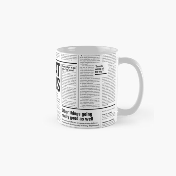The Good Times Vol. 1, No. 1 Classic Mug