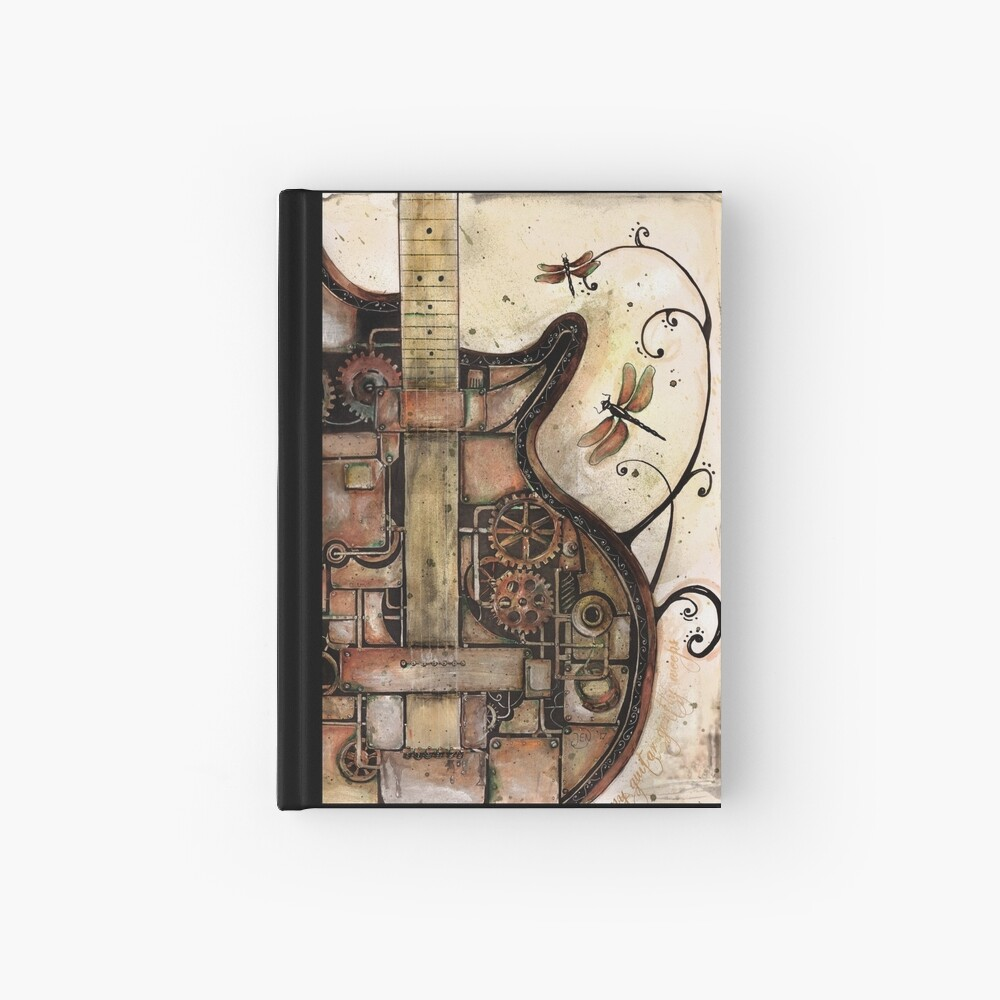 While my guitar gently weeps Hardcover Journal