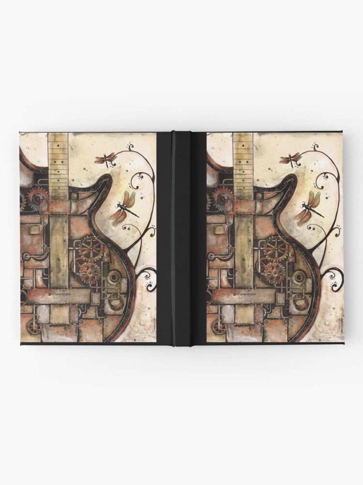 Alternate view of While my guitar gently weeps Hardcover Journal