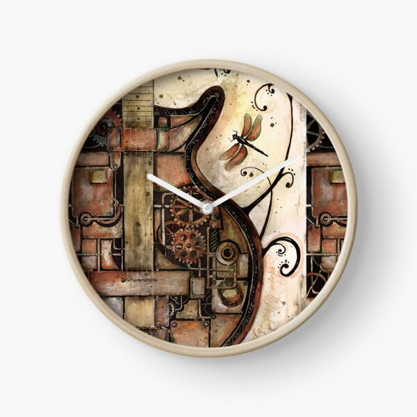 While my guitar gently weeps Clock