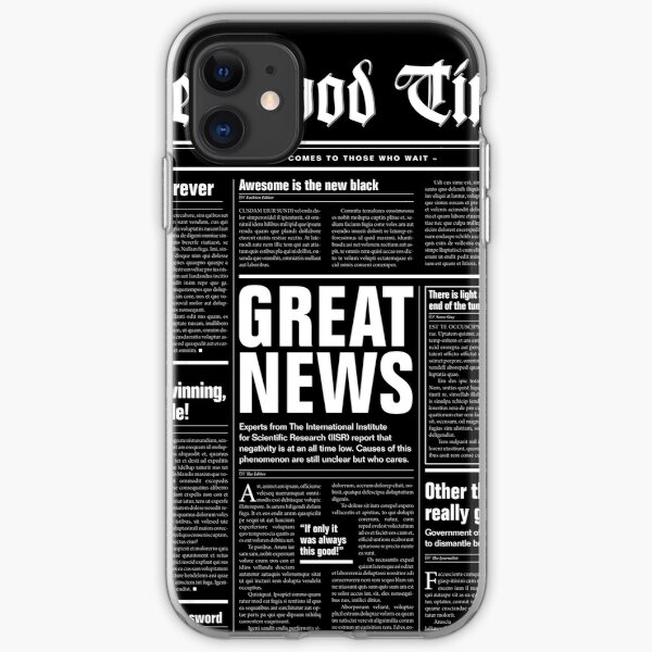 The Good Times Vol. 1, No. 1 REVERSED iPhone Soft Case