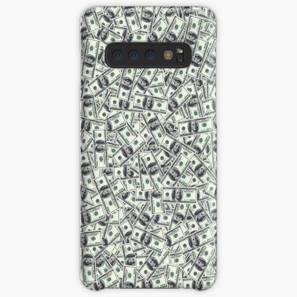 Giant money background 100 dollar bills Samsung Galaxy Snap Case