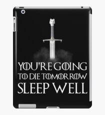 Sleep well - Game of Thrones iPad Case/Skin