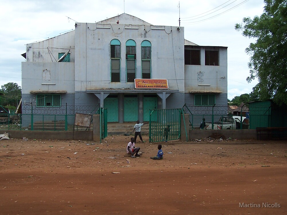 Juba Cinema, Sudan by Martina Nicolls