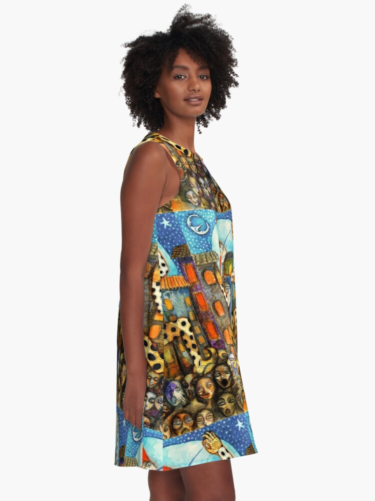 Alternate view of Viva la Revolución A-Line Dress