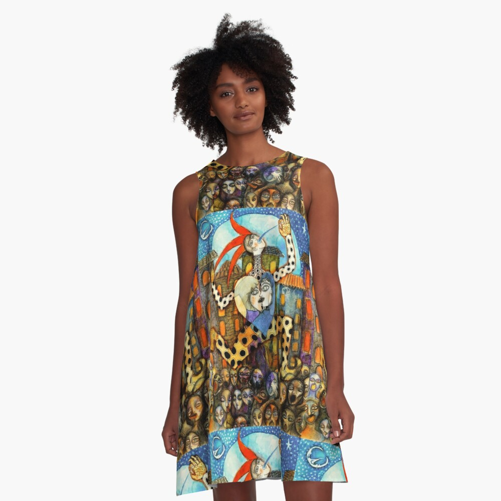 Viva la Revolución A-Line Dress