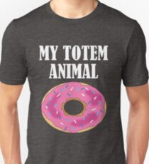 Funny My Totem Animal Is A Donut Design T-Shirt