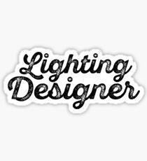 Lighting Designer Sticker