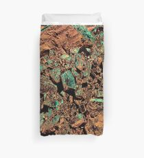 Inverted Rocks Duvet Cover